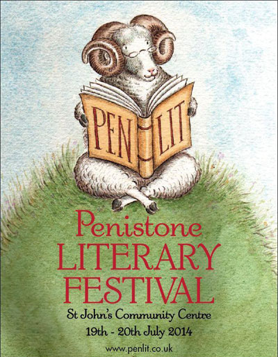 Penistone Literary Festival - illustration by Gill Tyler